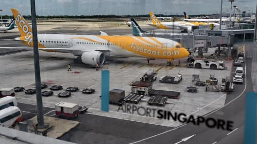 Long-haul budget carrier Scoot, a subsidiary of Singapore Airlines, is known for its cheap fares to Australia.